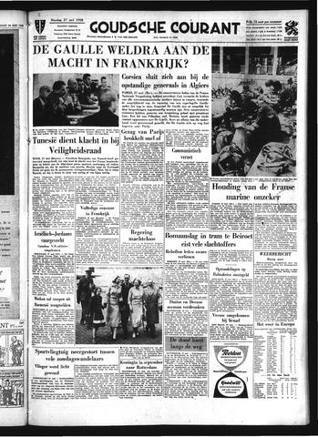 Goudsche Courant 1958-05-27