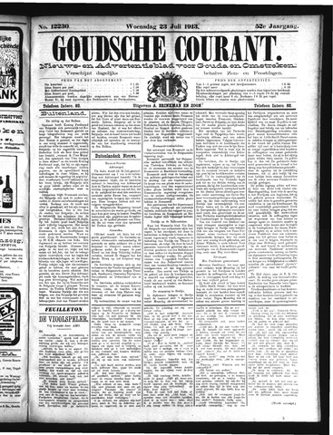 Goudsche Courant 1913-07-23