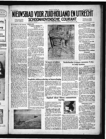 Schoonhovensche Courant 1950-01-06