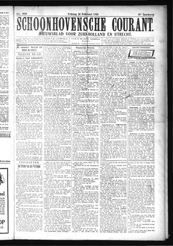 Schoonhovensche Courant 1925-02-20