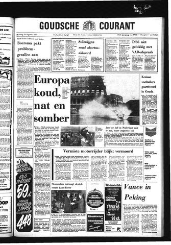 Goudsche Courant 1977-08-22