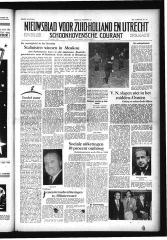 Schoonhovensche Courant 1956-11-23