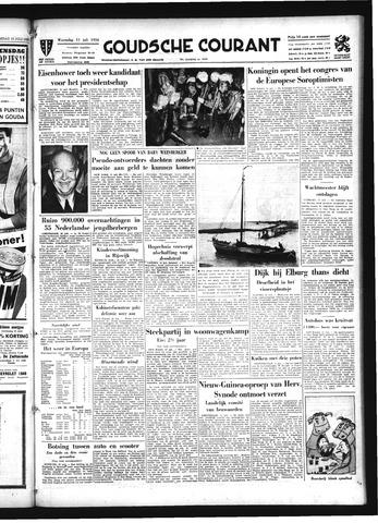 Goudsche Courant 1956-07-11