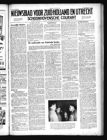 Schoonhovensche Courant 1949-01-21