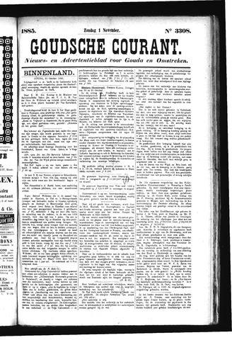 Goudsche Courant 1885-11-01