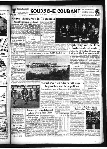 Goudsche Courant 1954-06-30