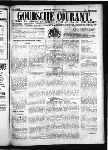 Goudsche Courant 1933-10-27