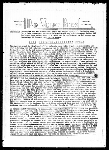 De Vrije Pers 1945-01-13