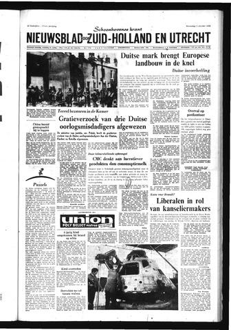 Schoonhovensche Courant 1969-10-01