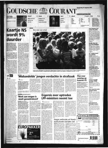 Goudsche Courant 2002-08-29