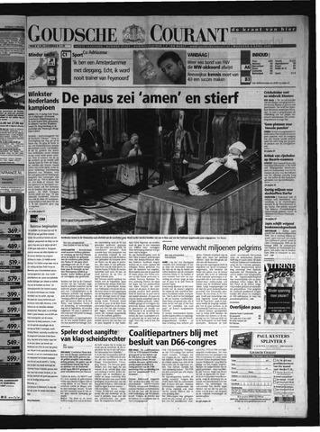 Goudsche Courant 2005-04-04