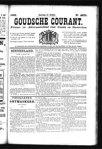 Goudsche Courant 1891-10-31