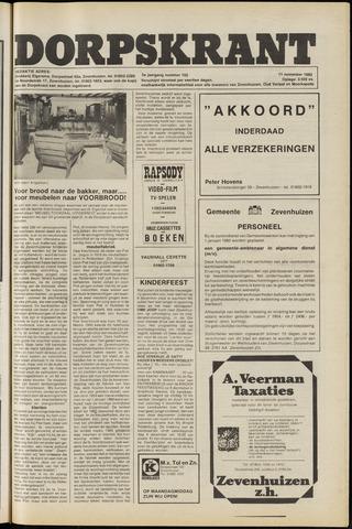 Dorpskrant 1982-11-11