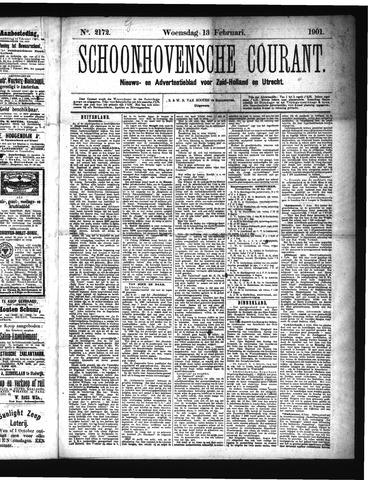 Schoonhovensche Courant 1901-02-13