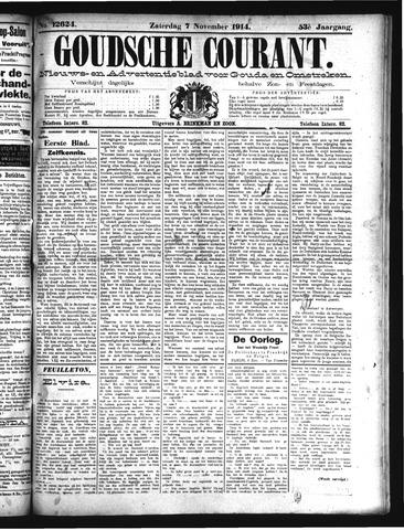 Goudsche Courant 1914-11-07