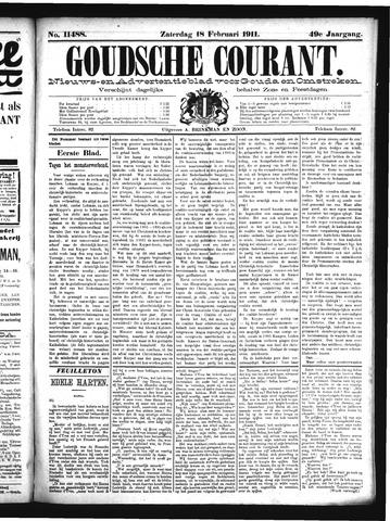 Goudsche Courant 1911-02-18