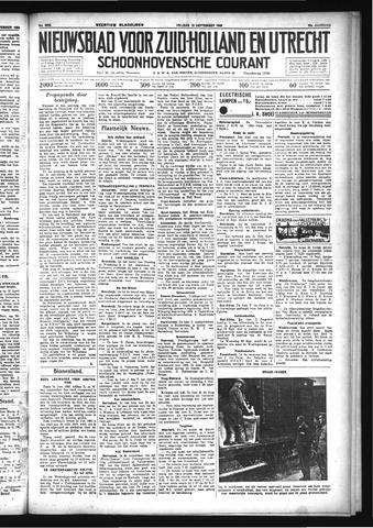 Schoonhovensche Courant 1933-09-15