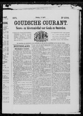 Goudsche Courant 1871-04-09