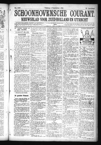 Schoonhovensche Courant 1926-09-03