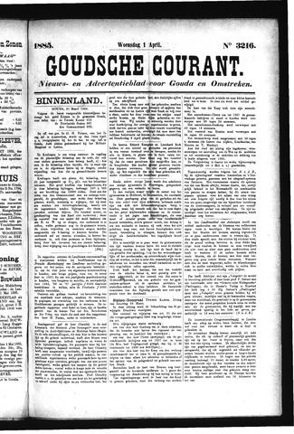Goudsche Courant 1885-04-01
