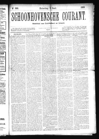 Schoonhovensche Courant 1888-06-02