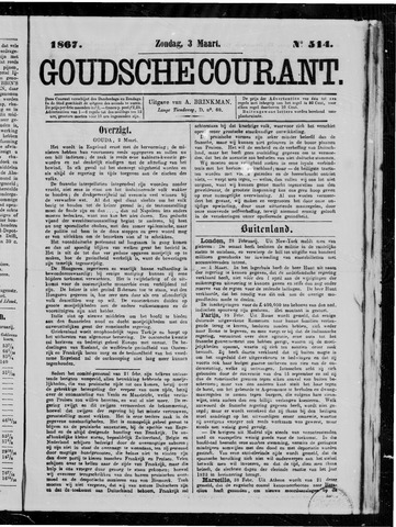 Goudsche Courant 1867-03-03
