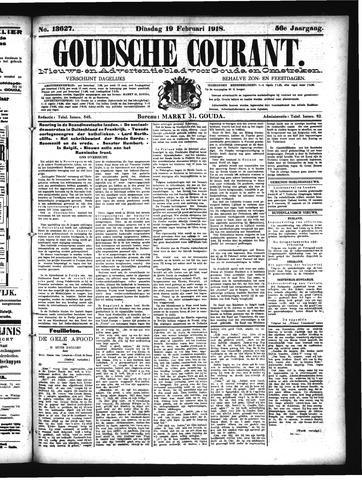 Goudsche Courant 1918-02-19