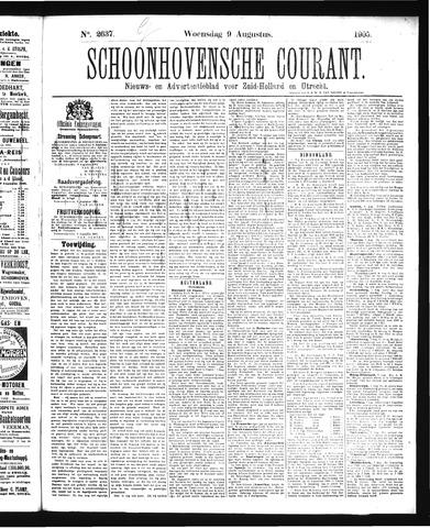 Schoonhovensche Courant 1905-08-09