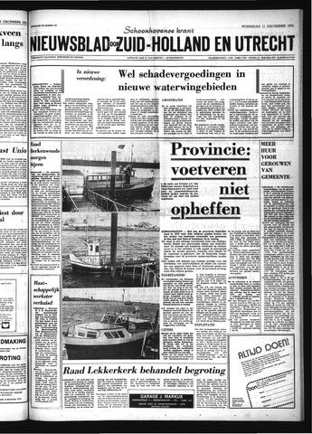 Schoonhovensche Courant 1974-12-11