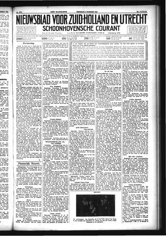 Schoonhovensche Courant 1933-11-08