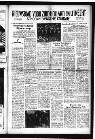 Schoonhovensche Courant 1952-10-10