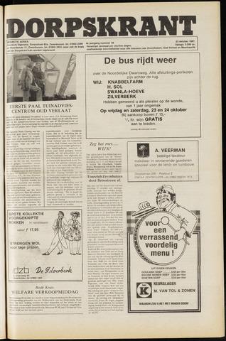 Dorpskrant 1981-10-23
