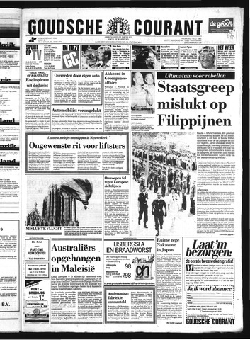 Goudsche Courant 1986-07-07