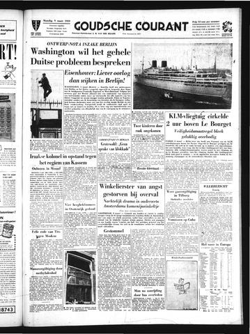 Goudsche Courant 1959-03-09