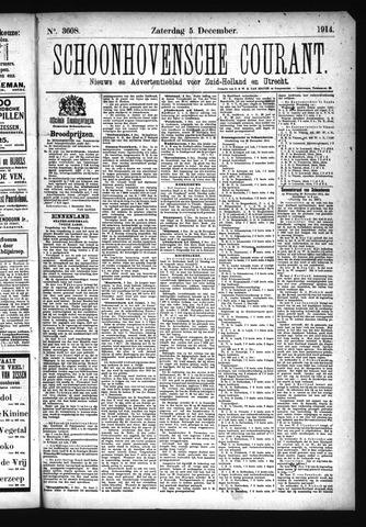 Schoonhovensche Courant 1914-12-05