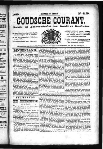 Goudsche Courant 1890-01-25
