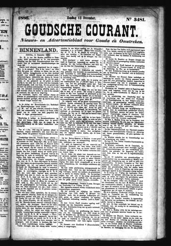 Goudsche Courant 1886-12-12