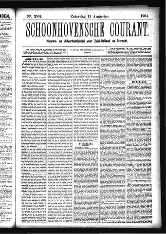 Schoonhovensche Courant 1904-08-13