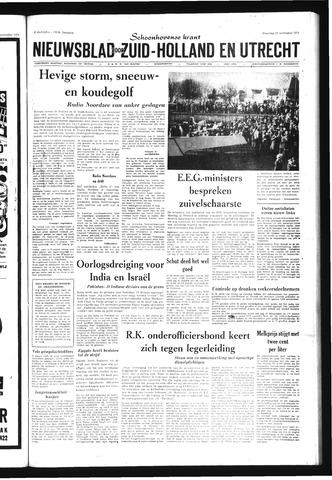 Schoonhovensche Courant 1971-11-22