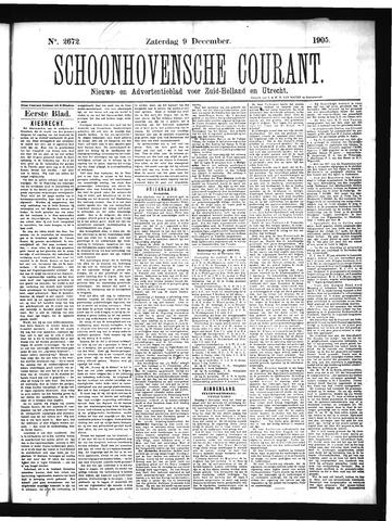Schoonhovensche Courant 1905-12-09