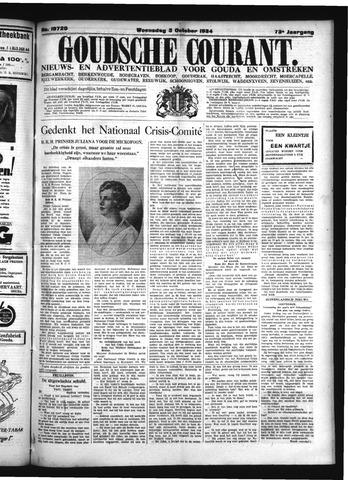Goudsche Courant 1934-10-03