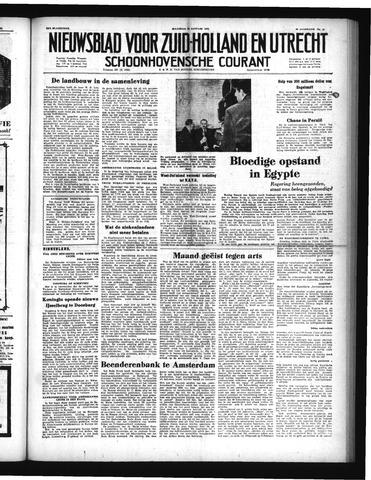 Schoonhovensche Courant 1952-01-28