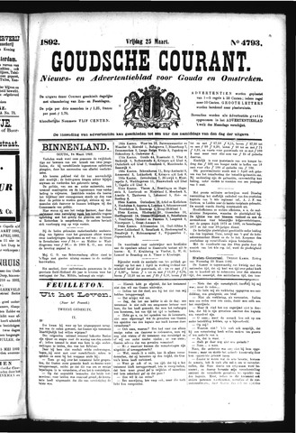 Goudsche Courant 1892-03-25