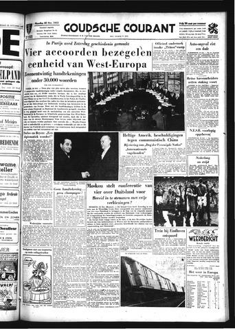 Goudsche Courant 1954-10-25