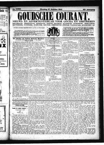 Goudsche Courant 1925-10-27
