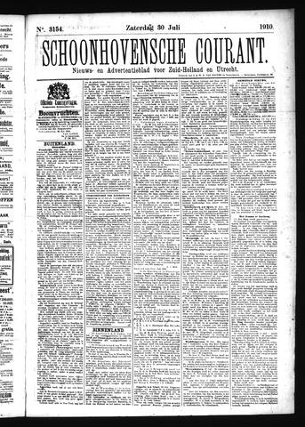 Schoonhovensche Courant 1910-07-30