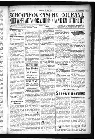 Schoonhovensche Courant 1927-07-15