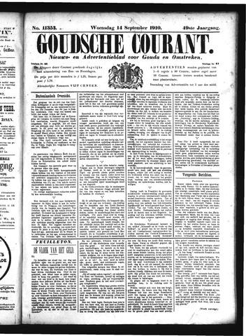 Goudsche Courant 1910-09-14