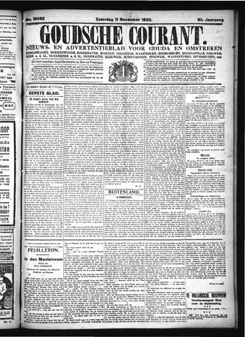 Goudsche Courant 1922-11-11