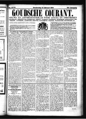 Goudsche Courant 1925-02-12